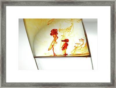 Women And Child Framed Print by Ivan Vukelic