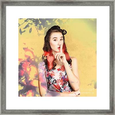Women Style Secrets Framed Print by Jorgo Photography - Wall Art Gallery
