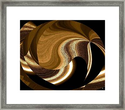 Wood Grains Framed Print by Will Borden