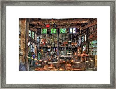 Wood Heaven Wears Valley Tn Framed Print by Reid Callaway