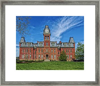 Woodburn Hall - West Virginia University Framed Print by Mountain Dreams