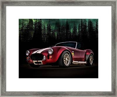 Woodland Cobra Framed Print by Douglas Pittman