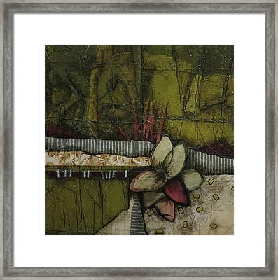 Woods Medicine  Framed Print by Laura Lein-Svencner
