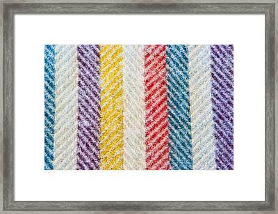 Wool Blanket Framed Print by Tom Gowanlock