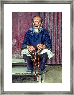 Working Hands Framed Print by Steve Harrington