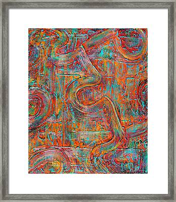 Working Together Framed Print by Wendy Middlemass