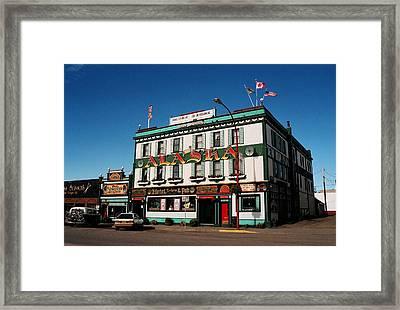 World Famous Alaska Hotel Framed Print by Juergen Weiss