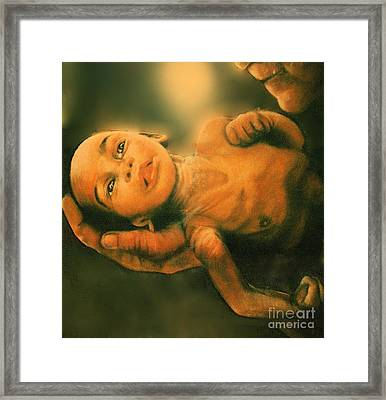World Hunger Series 1984 Framed Print by Curtis James