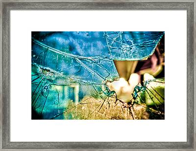 World In My Eyes Framed Print by TC Morgan