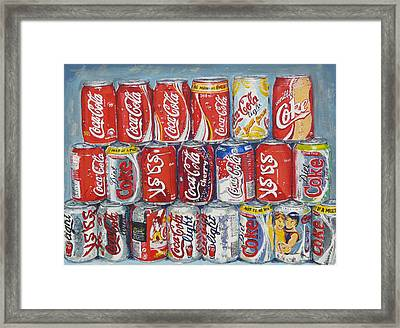 World Of Coca Cola Framed Print by Tomas OMaoldomhnaigh