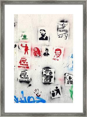 World Peace 4 Framed Print by James Brunker