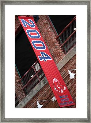 World Series Champs Framed Print by Greg DeBeck