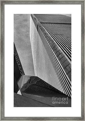 World Trade Center 1 Framed Print by Jeff Breiman