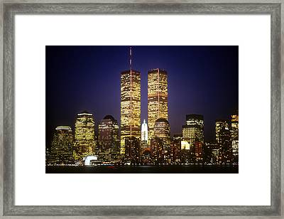 World Trade Center Framed Print by Gerard Fritz