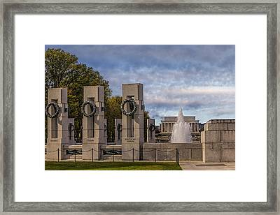 World War II Memorial Framed Print by Susan Candelario