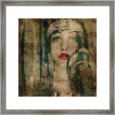 World Without Love  Framed Print by Paul Lovering