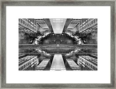 Worlds End  Framed Print by Az Jackson