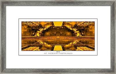 Worlds End Poster Print Framed Print by Az Jackson