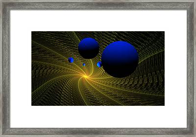 Wormhole Framed Print by David Lane