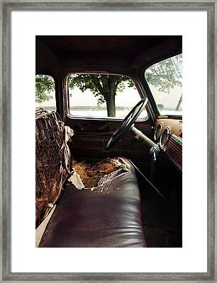 Worn Out 2 Framed Print by Joanne Coyle