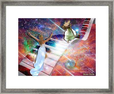 Worship In Spirit And In Truth Framed Print by Dolores Develde