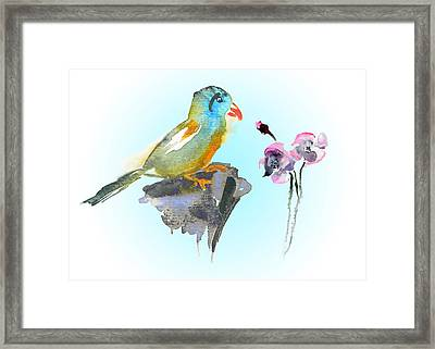 Would You Care To Dance With Me Framed Print by Miki De Goodaboom