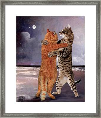 Would You Like To Dance Framed Print by Ron Chambers