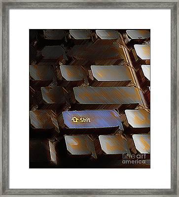 Writer's Block Framed Print by Steven  Digman