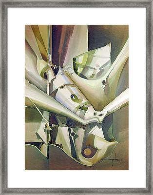 Ws1979ny005 Dynamo Framed Print by Alfredo Da Silva