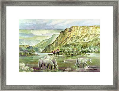 Ws2000dc023 Landscape Bolivia 18x12 Framed Print by Alfredo Da Silva