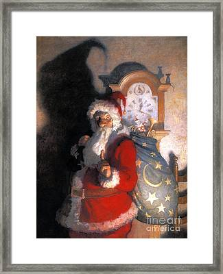 Wyeth: Old Kris (kringle) Framed Print by Granger