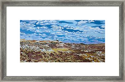 Wyoming Afternoon Framed Print by Dale Beckman