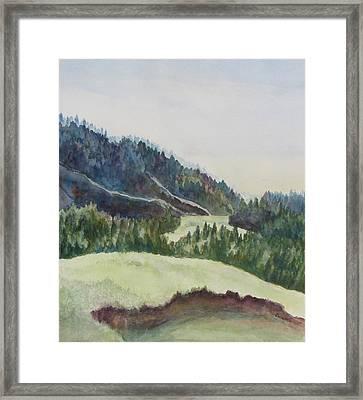 Wyoming Glow Framed Print by Jenny Armitage