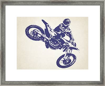 X Games Motocross 1 Framed Print by Stephanie Hamilton
