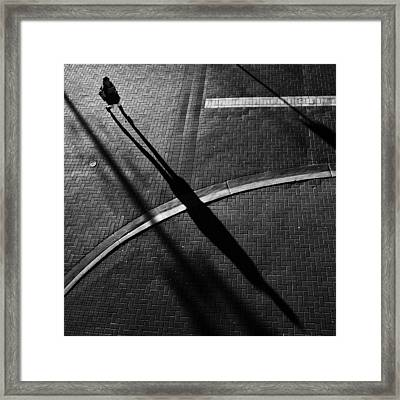 X Framed Print by Jianwei Yang
