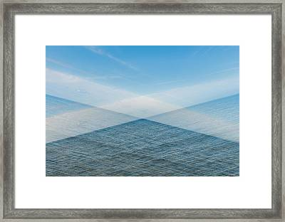 X Marks The Spot Framed Print by Marcus Karlsson Sall