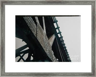 X Marks The Spot Framed Print by Robert Buss