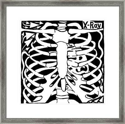 X-ray Maze Framed Print by Yonatan Frimer Maze Artist