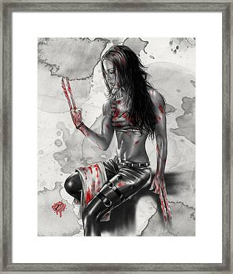 X23 Framed Print by Pete Tapang