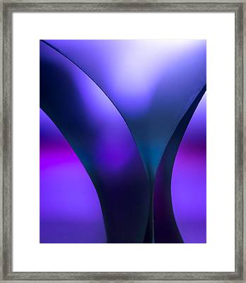Y Is The Question Framed Print by Yogendra Joshi