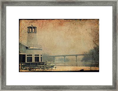 Yacht Club On The Fox Framed Print by Joel Witmeyer