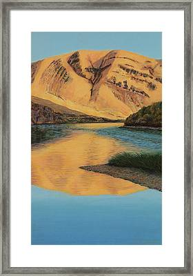 Yakima Canyon Framed Print by Laurie Stewart