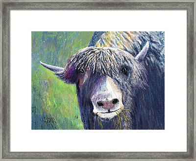 Yakity Yak Framed Print by Arline Wagner