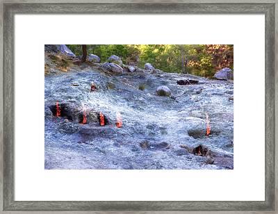 Yanartas - Turkey Framed Print by Joana Kruse