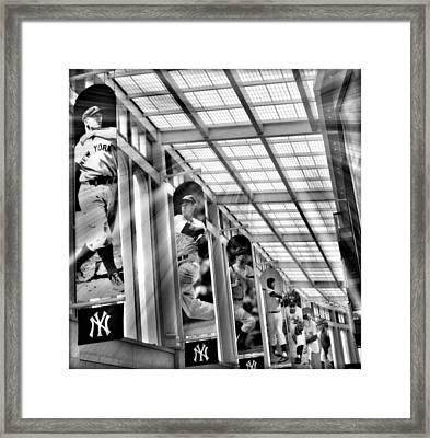 Yankee Immortals II Framed Print by Aurelio Zucco
