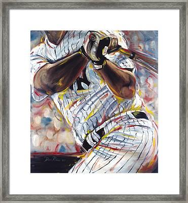 Yankee Framed Print by Redlime Art
