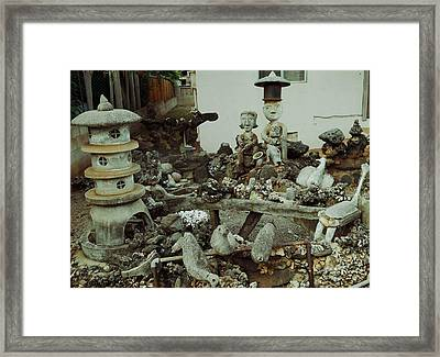 Yard Art 1 Framed Print by Ron Kandt