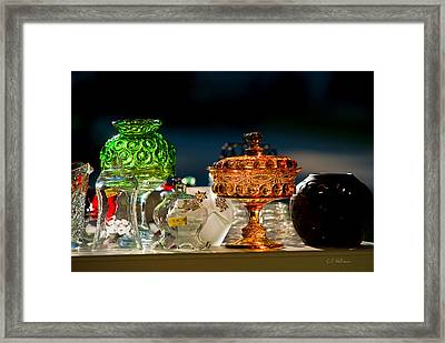 Yard Sale Treasures Framed Print by Christopher Holmes
