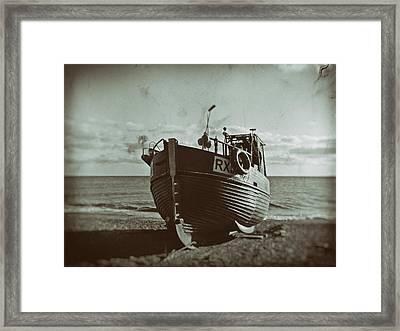 Ye Olde Fishing Fleet Framed Print by Sharon Lisa Clarke