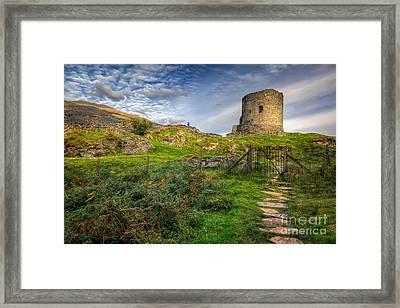 Ye Olde Path  Framed Print by Adrian Evans